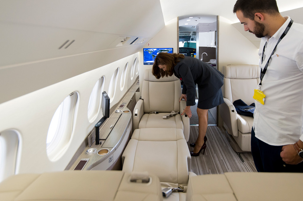 Dassault To Extend Cabin Familiarization Training To New