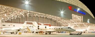 810 Jet Aviation Singapore 18_Jet Aviation Singapore Hangar_Night