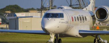 G500_Arrives+in+Farnborough