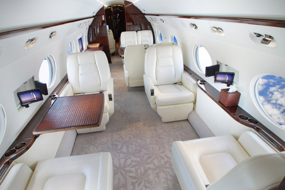 The G550 from EAS will be marketed by Vertis Aviation internationally