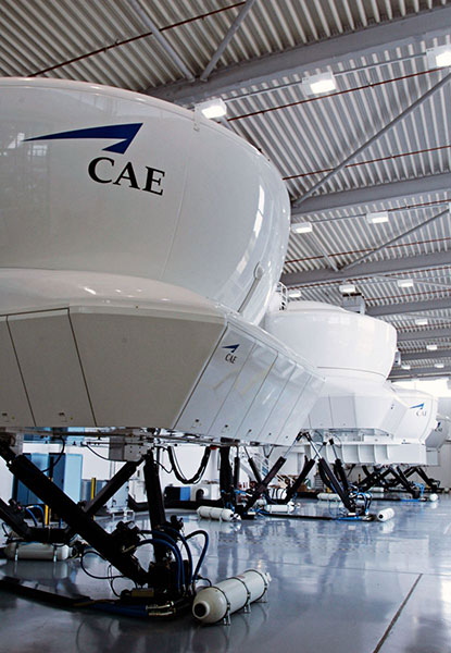 CAE sets new record for full-flight simulator sales with 43