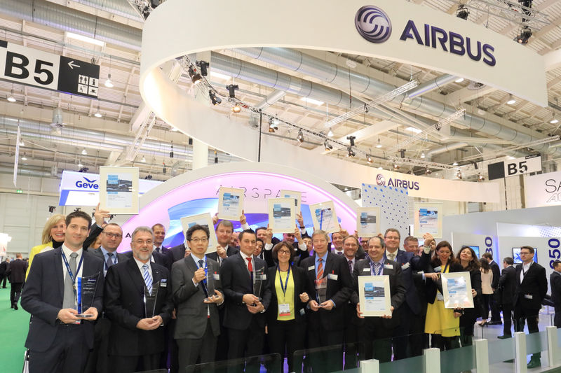 Airbus Honours Cabin Suppliers At Aircraft Interiors Expo 2016